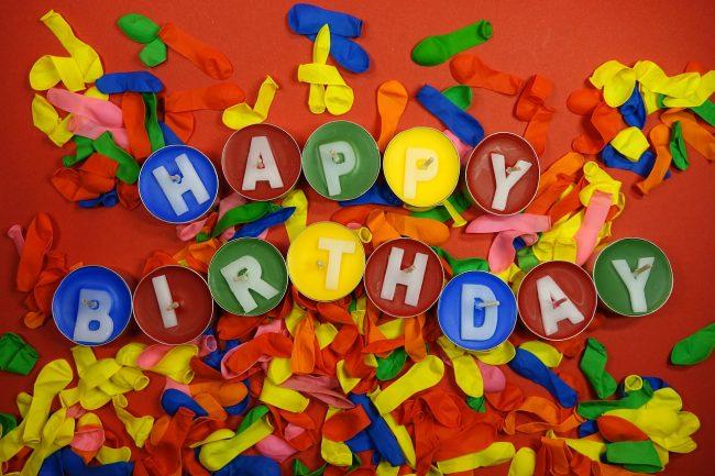 birthday word search