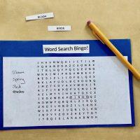 Word Search Bingo